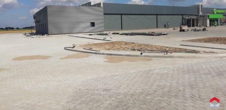 реконструкция торгового центра в скиделе